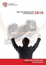 Báo cáo thường niên năm 2010 - Công ty Cổ Phần Phát Triển Bất ...