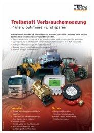 Treibstoff Verbrauchsmessung - Aquametro AG