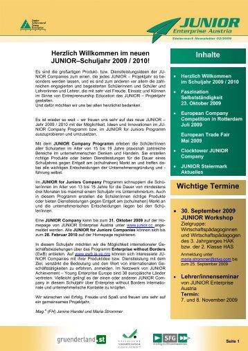 09_09_JUNIOR_Stmk_08_Newsletter 03-2009.pdf - Junior.cc