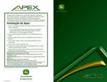Instalação do Apex - StellarSupport