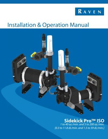 Installation & Operation Manual - StellarSupport - John Deere