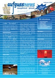 Wir informieren - Aquana