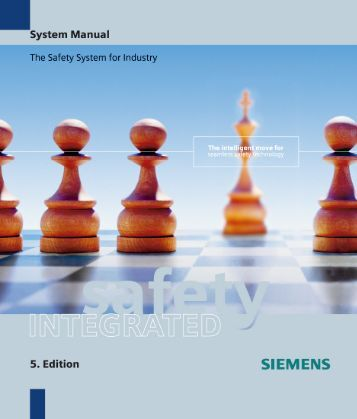System Manual safety Integrated - Siemens