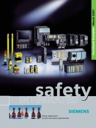 Safety Integrated - Industry - Siemens