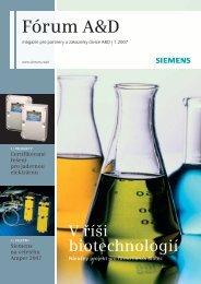 Fórum A&D 01/2007 (2607 KB) - Siemens, s.r.o.