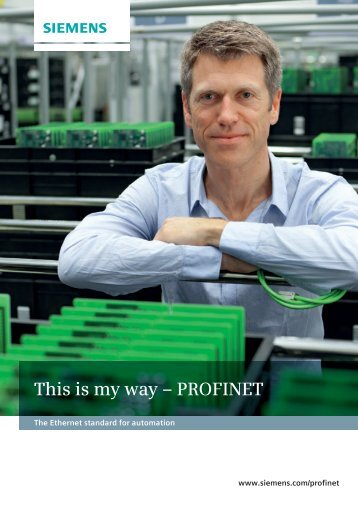 This is my way – PROFINET