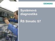 Systémová diagnostika S7