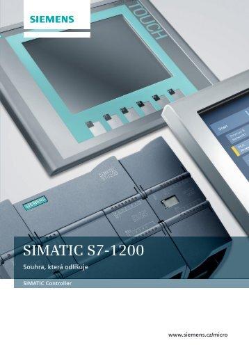 Prospekt Simatic S7-1200 - Siemens, s.r.o.