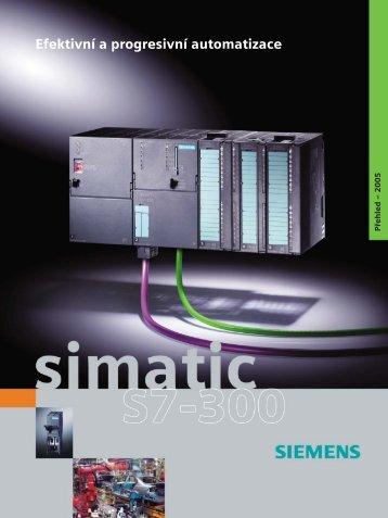 SIMATIC S7-300: prospekt - Siemens, s.r.o.