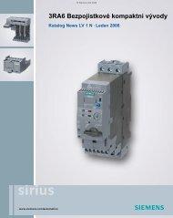 Katalog LV 1 News 3RA6