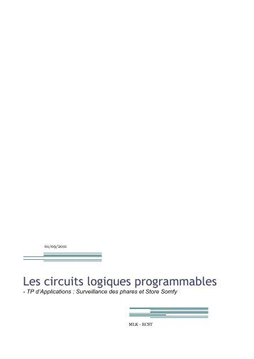 Circuits logiques ele1300 objectifs for Les circuit logique