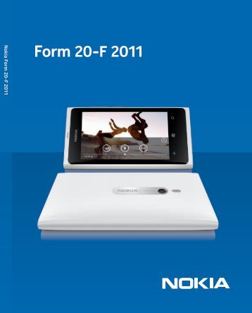 Annual Report on Form 20-F 2011 - Nokia