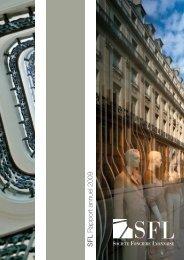 SFL Rapport annuel 2009 - Info-financiere.fr