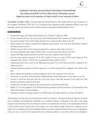 Catamaran Corporation Announces Record Third Quarter Financial ...