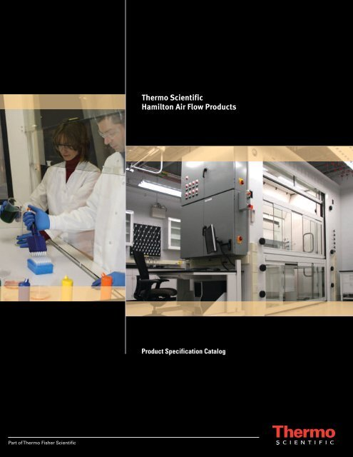 Thermo Scientific Hamilton Air Flow Products - Clarkson Laboratory ...