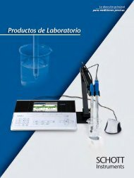 Schott Instruments SI Analytics Catalogo Productos de Laboratorio ...
