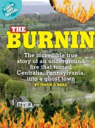 The Burning Town - Storyworks - Scholastic