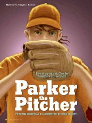 Parker the Pitcher - Storyworks - Scholastic