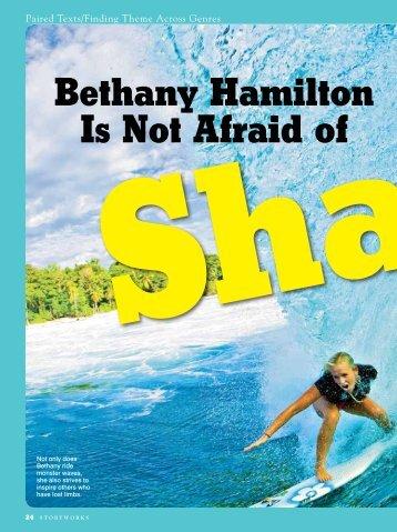 Bethany Hamilton Is Not Afraid of - Scholastic