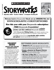 here. - Storyworks Magazine - Scholastic