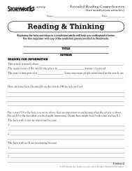 Reading & Thinking - Scholastic