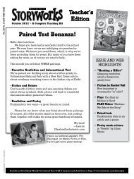 Paired Text Bonanza! - Storyworks - Scholastic