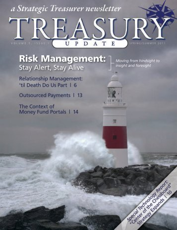 Treasury Update Vol. 5, Issue 1, Spring/Summer 2011 - Strategic ...
