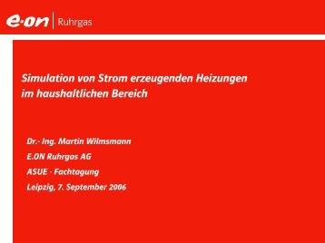 Vortrag Dr. WilmsmannPDF 0,6 MB - Strom erzeugende Heizung