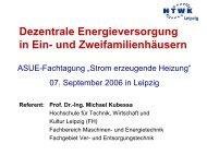 Dezentrale Energieversorgung in Ein - Strom erzeugende Heizung