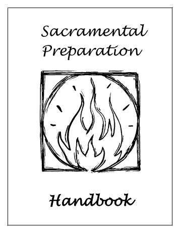 Sacramental Prep Parent Handbook - St. Thomas The Apostle