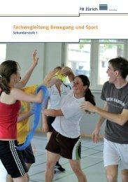 Bewegung & Sport - Pädagogische Hochschule Zürich
