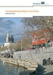 Fachwegleitung Religion und Kultur - Pädagogische Hochschule ...