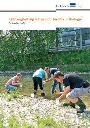 Natur & Technik − Biologie - Pädagogische Hochschule Zürich