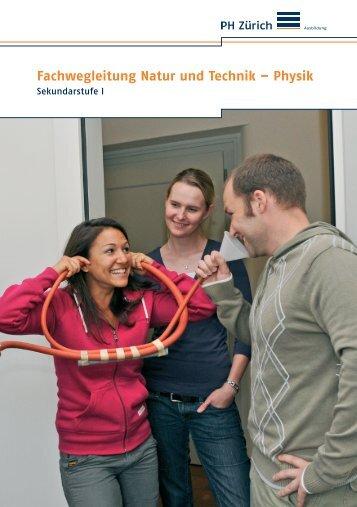 Physik - Pädagogische Hochschule Zürich