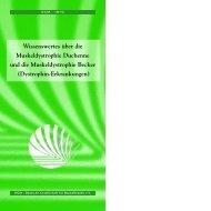 Wissenswertes über die Muskeldystrophie Duchenne und die
