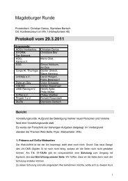 Magdeburger Runde Protokoll vom 29.3.2011 - Stura Wiki
