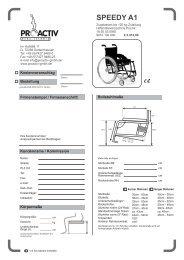 speedy_a1 - bei PRO ACTIV Reha-Technik GmbH