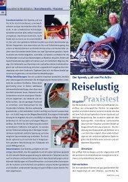 Reiselustig - bei PRO ACTIV Reha-Technik GmbH