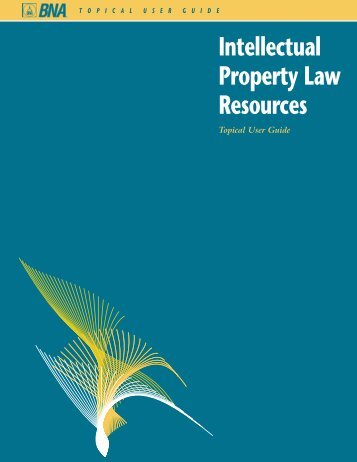 Intellectual Property Law Resources - Bna