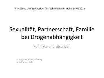 Sexualität, Partnerschaft, Familie bei Drogenabhängigkeit, Vortrag G ...
