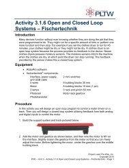 Activity 3.1.6 Open and Closed Loop Systems – Fischertechnik