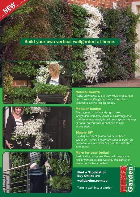 Build your own vertical wallgarden at home. - Vertical Garden ...