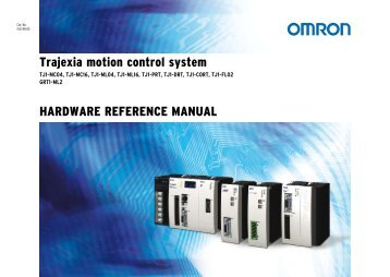 Trajexia motion control system hardware reference manual
