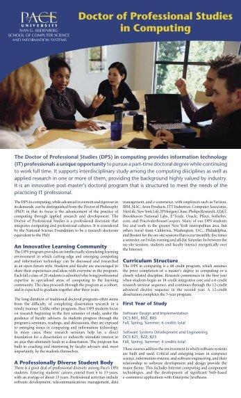 View DPS Fact Sheet Info - pace university