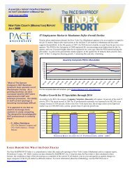 IT Employment Market in Manhattan Defies Overall ... - pace university