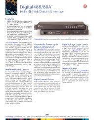 80-Bit IEEE 488/Digital I/O Interface