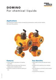 DOMINO For chemical liquids - Sauter