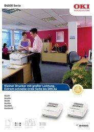 B4000 Serie Kleiner Drucker mit großer Leistung. Extrem schnelle ...