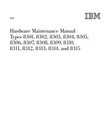 Hardware Maintenance Manual - Lenovo