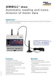 AMBILL® muc Automatic reading and trans ... - Aquametro AG
